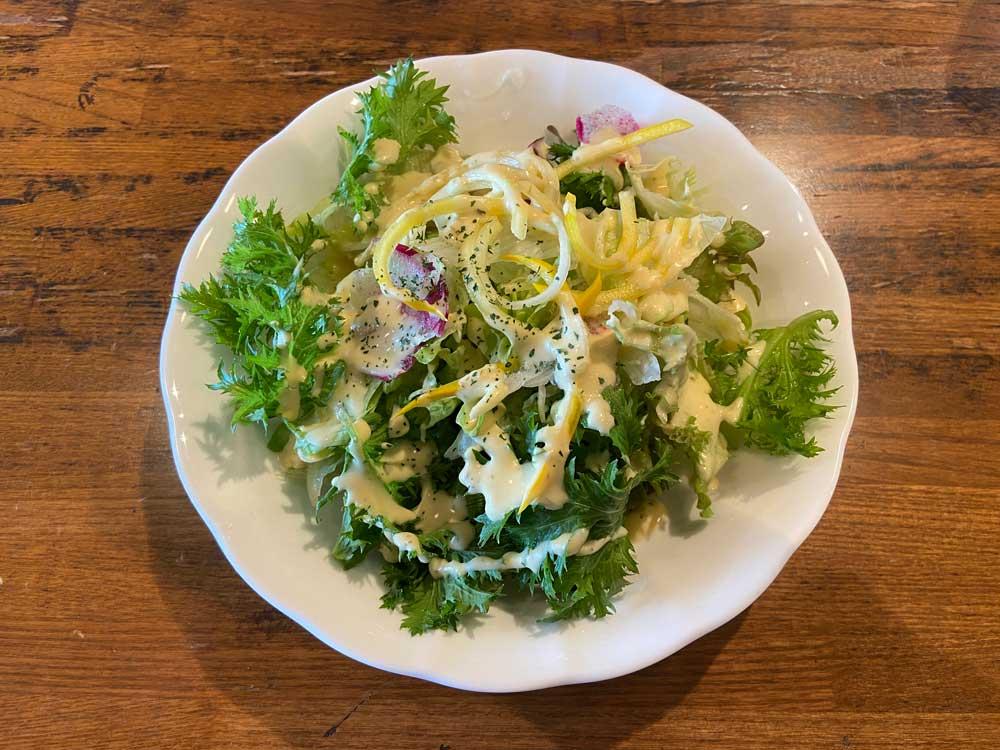 ぶどうの木 サラダ